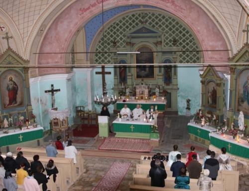 Jubileumi szentmise Móriczföldön