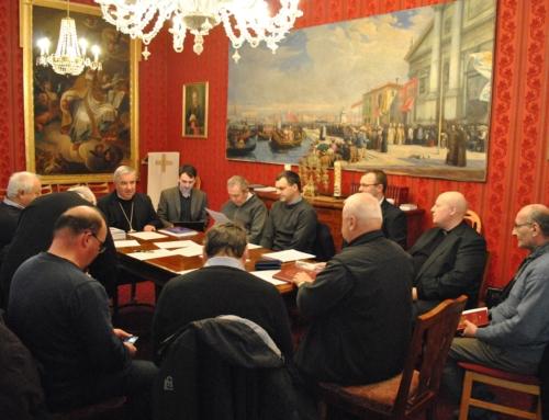 Ședința ordinară a Consiliului Presbiteral la Timișoara