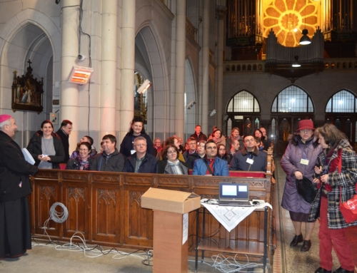 """""""Möge Gottes Werk uns mehr und mehr durchdringen…"""" Eröffnung des Bildungskursdes für Laien"""