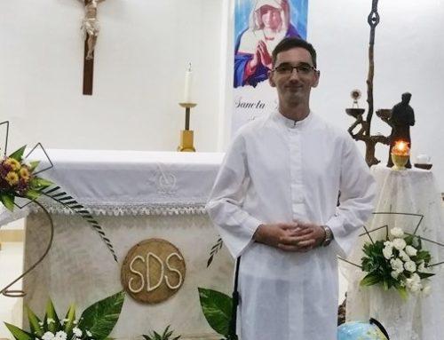 Tânărul timișorean Adrian Hafner a depus primele voturi în cadrul congregației Salvatorienilor