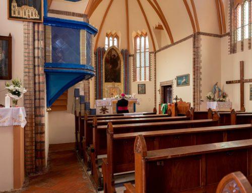 A zsombolyai Szent Mihály templom megáldása