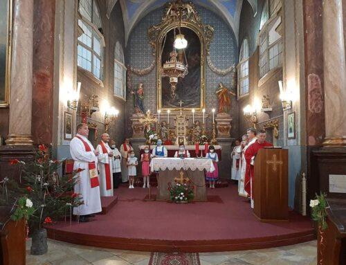 Az oravicabányai templom búcsúünnepe. Jobb idők reménye