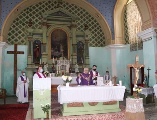 150 de ani de nașterea episcopulului de Timișoara  dr. h.c. Augustin Pacha – comemorare în biserica romano-catolică din Măureni