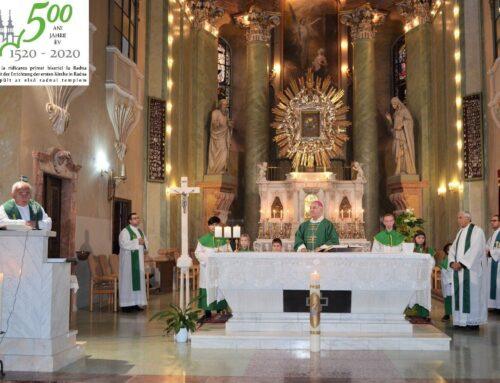 MARIA RADNA –  500 Jahre Zuflucht und Zuversicht,  200 Jahre seit der Konsekration der Basilika (15.)