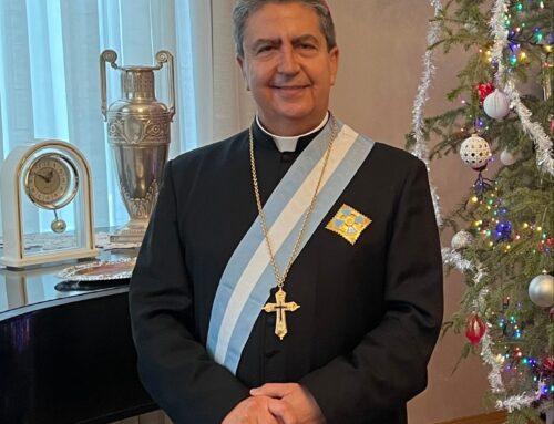 Hohes Landesabzeichen für den Apostolischen Nuntius in Bukarest
