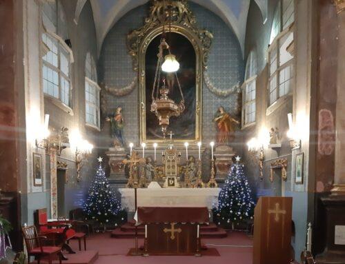 Program liturgic în câteva dintre parohiile Diecezei de Timișoara în data de 31 decembrie 2020 și 1 ianuarie 2021