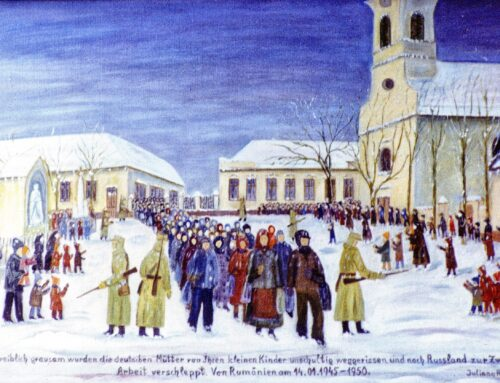 Requiem pentru germanii deportați în URSS în 1945