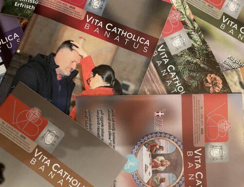 """Susținerea și difuzarea revistei noastre diecezane """"Vita Catholica Banatus"""""""