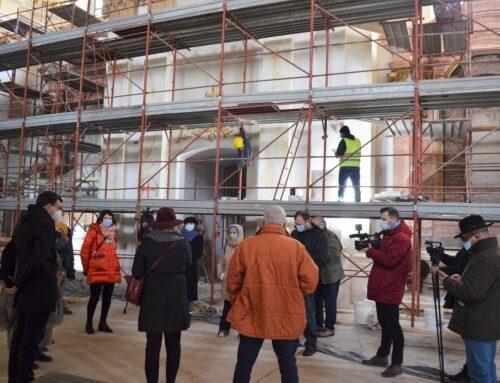 A temesvári Szent György székesegyház felújítása