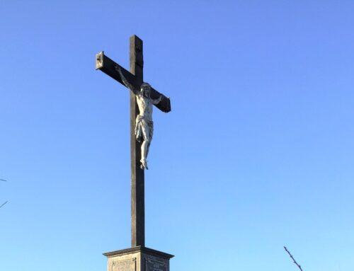 Calea Sf. Cruci în Dealul Crucii, la Reșița