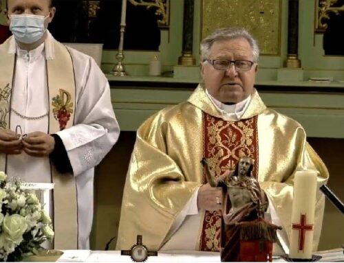 Goldenes Priesterjubiläum in Arad-Gai