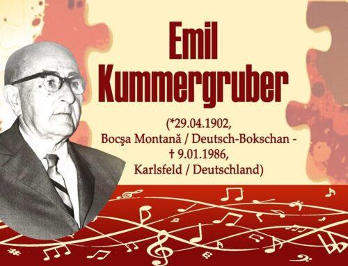 Wir erinnern uns an unsere Persönlichkeiten: Emil Kummergruber (29.4.1902 – 9.1.1986)