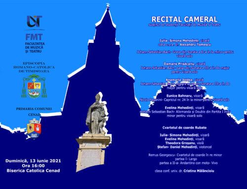 Concert în Biserica Sf. Gerhard din Cenad