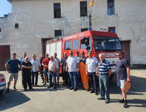 Mașină de pompieri bavareză pentru pompierii din Lipova – Intermediarul multor donații vine la Radna cu transporturi de ajutoare de peste zece ani