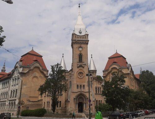 Biserica Ordinului Piarist din Timișoara în curs de renovare